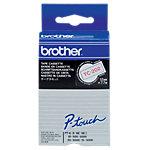 Brother Schriftband TC202 12 mm x 7.7 m Weiss, Weiss