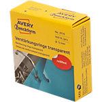 Avery Zweckform Lochverstärkungsringe 3015 Transparent 500 Stück