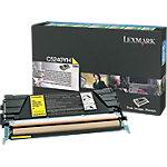 Lexmark C5240YH Original Tonerkartusche Gelb