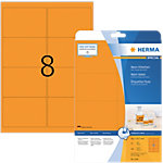 HERMA Etiketten 5145 Intensiv orange 99.1 x 67.7 mm 160 Blatt