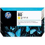 HP 80 Original Tintenpatrone C4847A Gelb