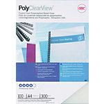 GBC Einbanddeckel PP Polycover Matt A4 Transparent 100 Stück