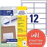 Avery Zweckform Adressetiketten QuickPEEL™ Weiss 97 x 42.3 mm 30 Blatt