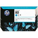 HP 80 Original Tintenpatrone C4846A Cyan