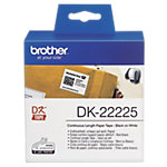 Brother Endlosetiketten (Papier) DK 2225 38 mm x 30.5 m Weiss
