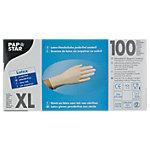 PAPSTAR Einweghandschuhe Latex XL ungepudert Weiss 100 Stück