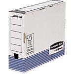 R Kive Prima Ablageboxen Prima Weiss, Blau 100% recycelbar 10 Stück