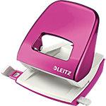 Leitz Bürolocher 5008 Pink Metallic 30 Blatt 2 fach