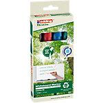 edding Whiteboard Marker EcoLine 28 Rundspitze 1,5   3 mm Farbig assortiert 4 Stück
