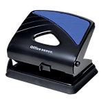 Office Depot Bürolocher 96W0 Schwarz, Blau 30 Blatt 2 fach