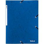 Biella Fächermappe 0178401.05 A4 Blau Pappe 235 x 320 mm