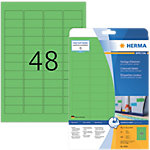 HERMA Etiketten  Grün 45.7 x 21.2 mm 20 Blatt