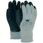 M Safe Handschuhe Coldgrip Latex M Schwarz, Grau 2 Stück