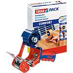 tesapack Comfort Packbandabroller Rot, Blau