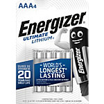 Energizer Lithium Batterien 627326 AAA Pack 4