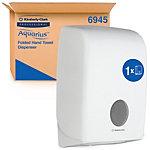 AQUARIUS Handtuchspender 6945 Kunststoff Weiß 26,5 x 13,6 x 39,9 cm