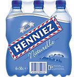 HENNIEZ Mineralwasser Naturelle 6 x 0.5 l