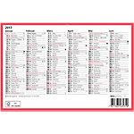 Biella Tafelkalender Deutsch 6 Monate