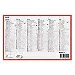 Biella Tafelkalender  Französisch 6 Monate