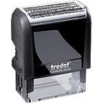 Trodat Datenschutzstempel Printy 4912 Datum, Text Schwarz 18 mm