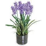 Künstliche Pflanze Lavendel Lila, Grün