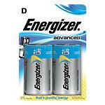 Energizer Batterien Eco Advanced D Pack 2