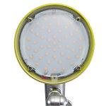 Alba Tischleuchte LED Luce Grün, Silber