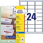 Avery Zweckform Adressetiketten QuickDry™ Weiss 63.5 x 33.9 mm 25 Blatt