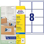 Avery Zweckform Adressetiketten QuickDry™ Weiss 99.1 x 67.7 mm 25 Blatt