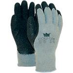 M Safe Handschuhe Coldgrip Latex XL Schwarz, Grau 2 Stück