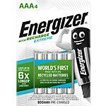 Energizer Wiederaufladbare Batterien AAA AAA Pack 4