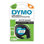 DYMO Labels 91221 12 mm x 4 m Schwarz, Weiss