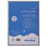 Niceday Aluminium Bilderrahmen A4 Grau 21 x 29.7 cm