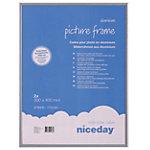 Niceday Aluminium Bilderrahmen Grau 30 x 40 cm