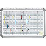 Franken Jahresplaner EuroLine® 5000 Silber 91 x 60 cm