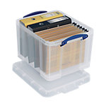 Really Useful Boxes Aufbewahrungsbox 35CCB 35.0 Liter Transparent Kunststoff 48 x 39 x 31 cm