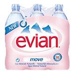 Evian Mineralwasser Ohne Kohlensäure 6 x 0.5 l