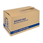 tidyPac Cargo Bücher Box Umzugskartons Braun 580 x 300 x 340 mm 5 Stück