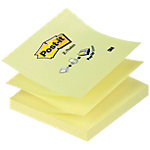 Post it Z Notes Haftnotizen R330 Gelb Blanko 76 x 76 mm 70 g