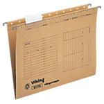 Viking Hängemappen V1715 A4 Braun Manilla 25 Stück