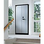 Armoires à portes battantes C+P Ignifuge Gris clair 93 x 50 x 195 cm