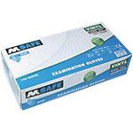 Gants M Safe Poudrés Vinyle Taille Medium Bleu 100