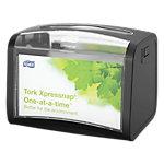 Distributeur de serviettes Tork Xpressnap Plastique Noir 201 x 155 mm