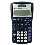 Calculatrice scientifique Texas Instruments TI 30 X IIS chiffres