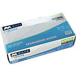 Gants M Safe Non poudrés Latex Taille Large Transparent 100