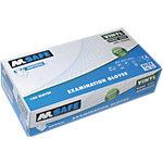 Gants M Safe Non poudrés Vinyle Taille Large Transparent 100