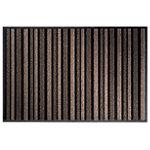 Tapis de sol extérieur Office Depot Polyamide Beige, noir 135 x 135 cm