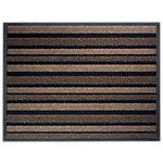 Tapis de sol extérieur Office Depot Polyamide Beige, noir 68 x 90 cm