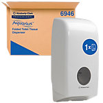 Distributeur d'essui mains Kimberly Clark Professional Aquarius Blanc 177 x 132 x 358 mm