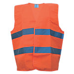 Blouson Haute visibilité One size Orange